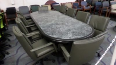Used Foot Granite Conference Table Direct Office Solutions - 14 ft conference table