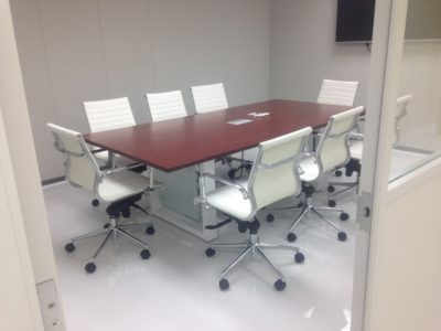 10 foot slab base modern conference table - direct office solutions
