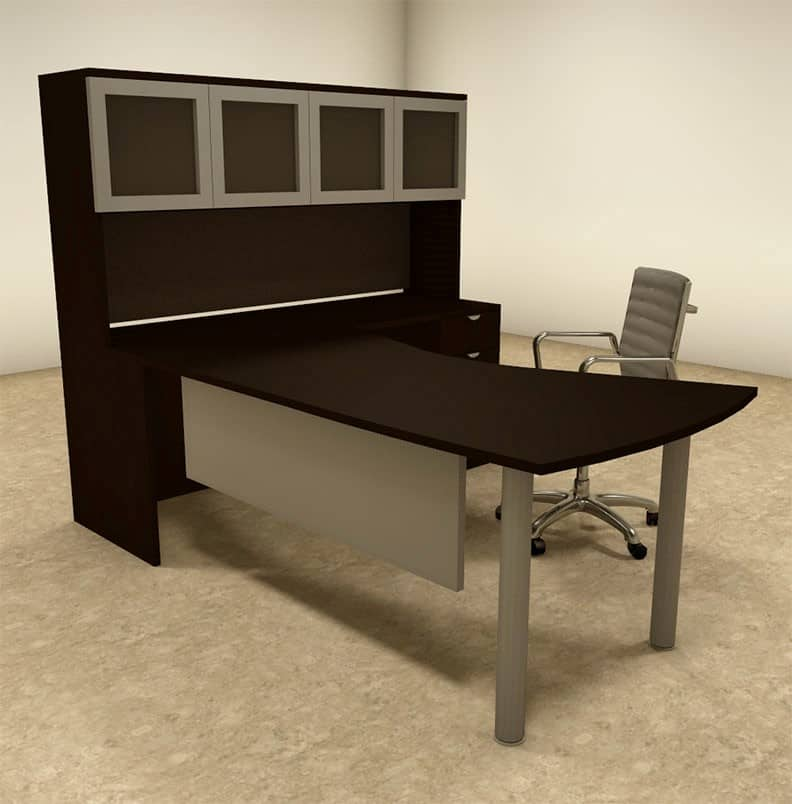 vector l shape desk with hutch direct office solutions
