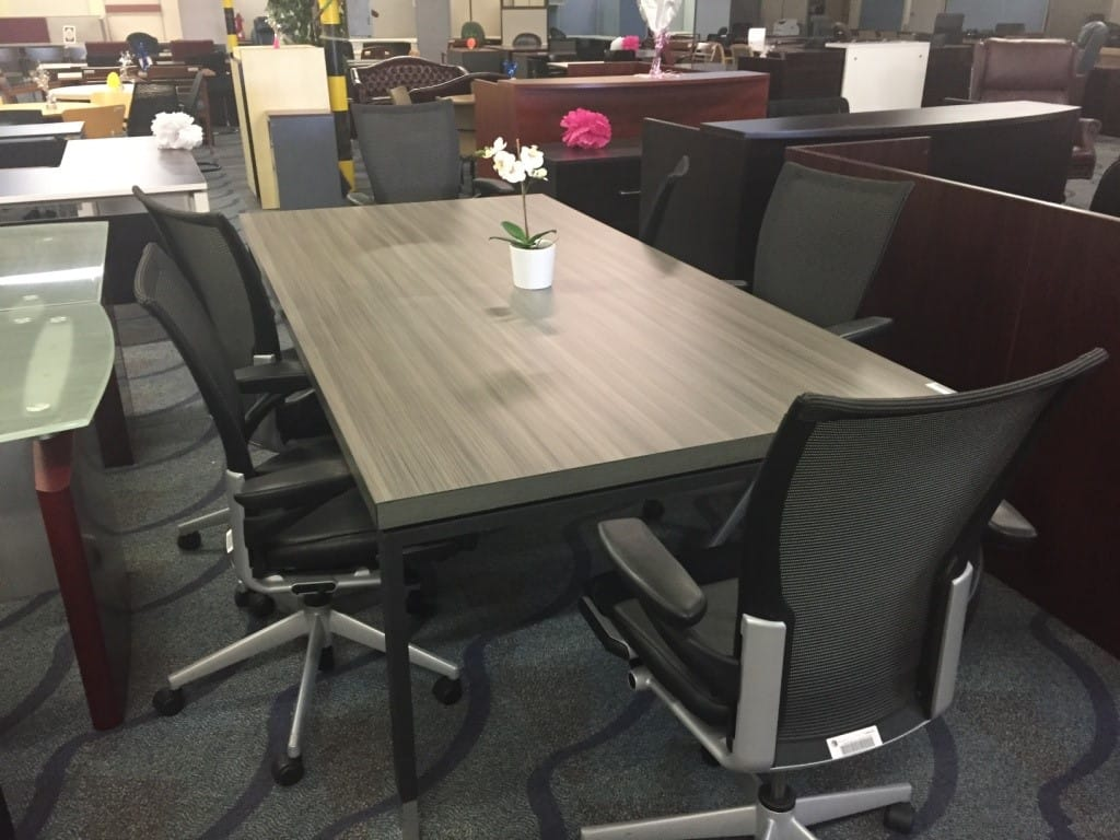 Foot Cool Grey Rectangular Conference Table Direct Office Solutions - 8 foot office table