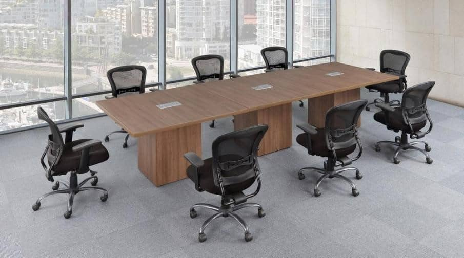 Foot Rectangular Conference Table With Cube Base Direct Office - 12 ft conference table
