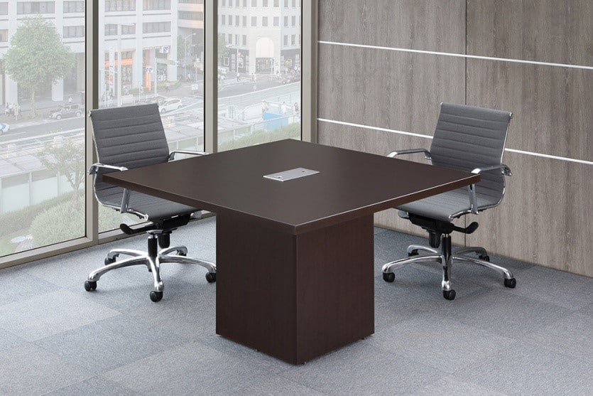 Beau 48u201d Conference Table With Cube Base By Office Source   Direct Office  Solutions