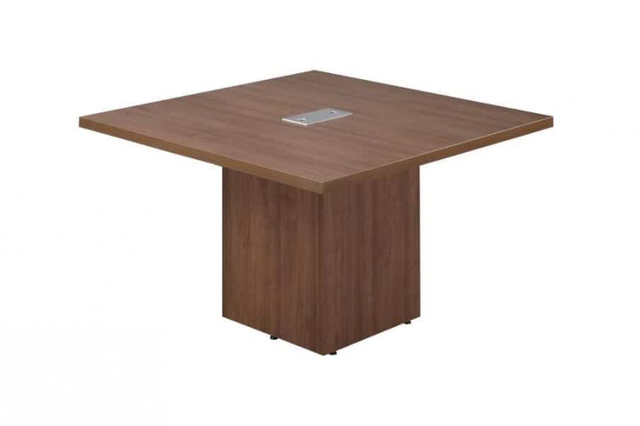 48 conference table with cube base by office source - Cube table basse ...