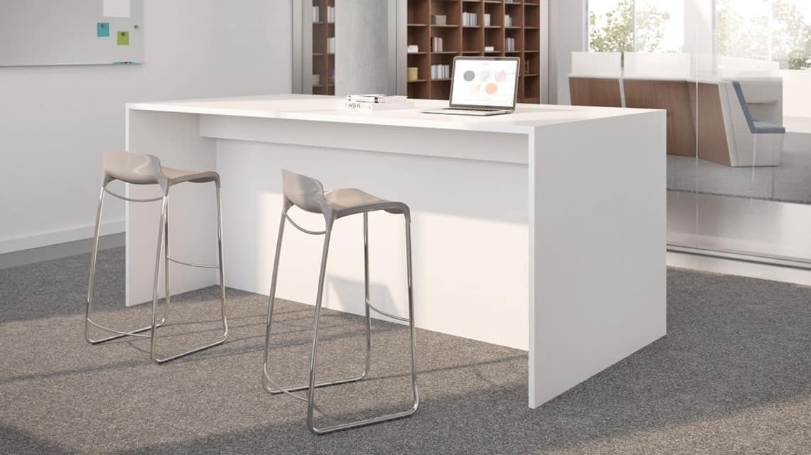 Intermix By First Office High Top Table Direct Office