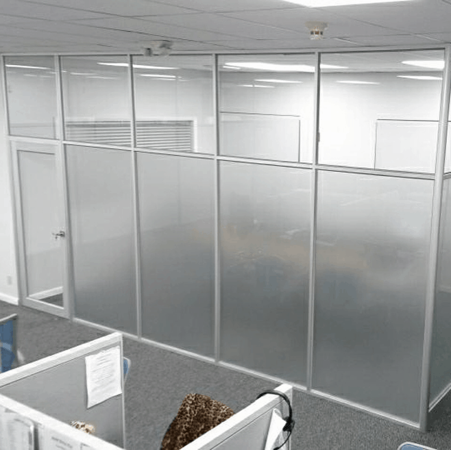 Floor To Ceiling Frosted Glass Office Direct Office