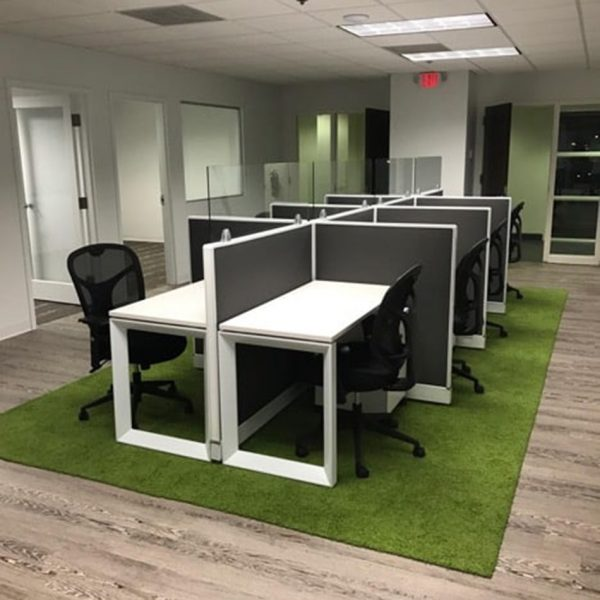Benching office cubicles in Delray Beach, FL